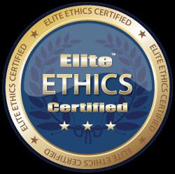 Elite Ethics Certification Badge